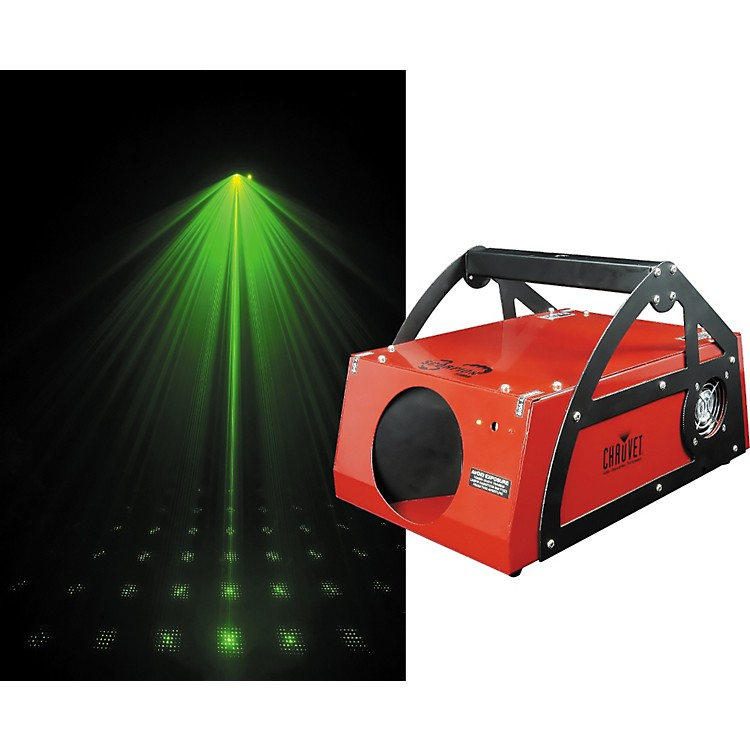CHAUVET DJScorpion Storm Green Laser889406721050