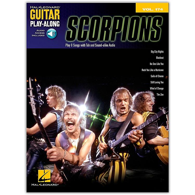 Hal LeonardScorpions - Guitar Play-Along Vol. 174 Book/Online Audio