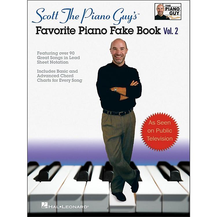 Hal LeonardScott The Piano Guy's Favorite Piano Fake Book Volume 2