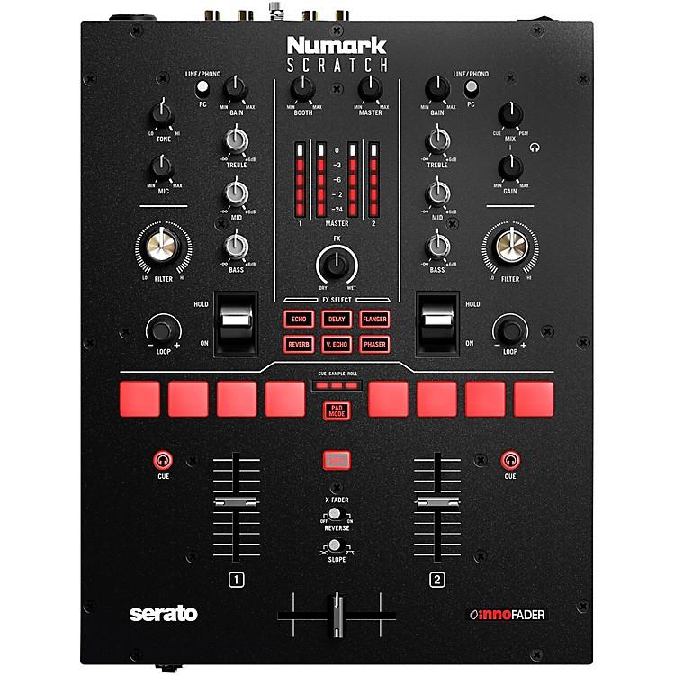 NumarkScratch 2-Channel DJ Mixer for Serato DJ Pro