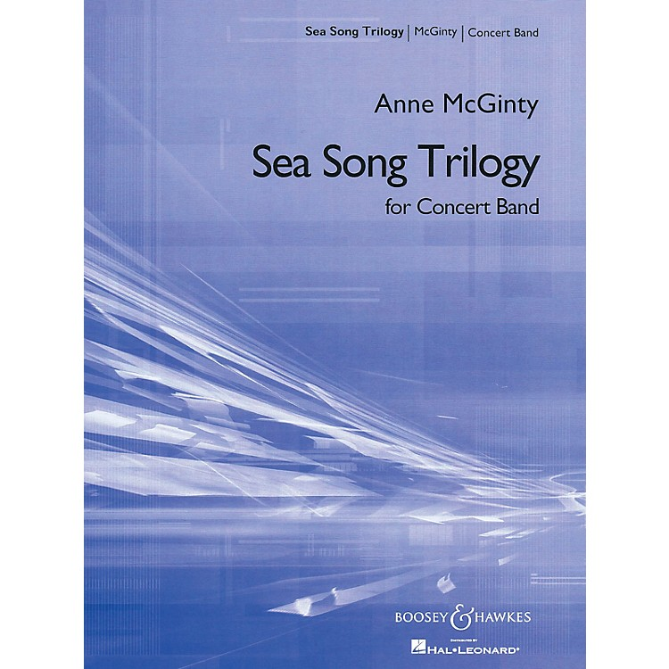 Boosey and Hawkes Sea Song Trilogy (Score and Parts) Concert Band Composed by Anne McGinty