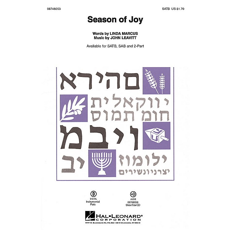 Hal LeonardSeason of Joy ShowTrax CD Composed by John Leavitt