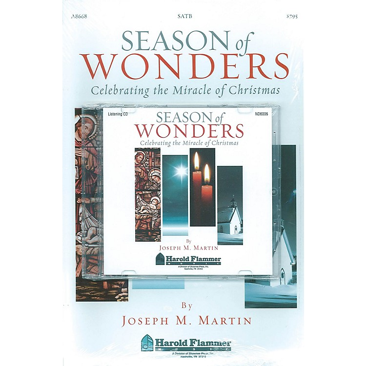 Shawnee PressSeason of Wonders (Preview Pak (Book/CD)) Preview Pak composed by Joseph M. Martin