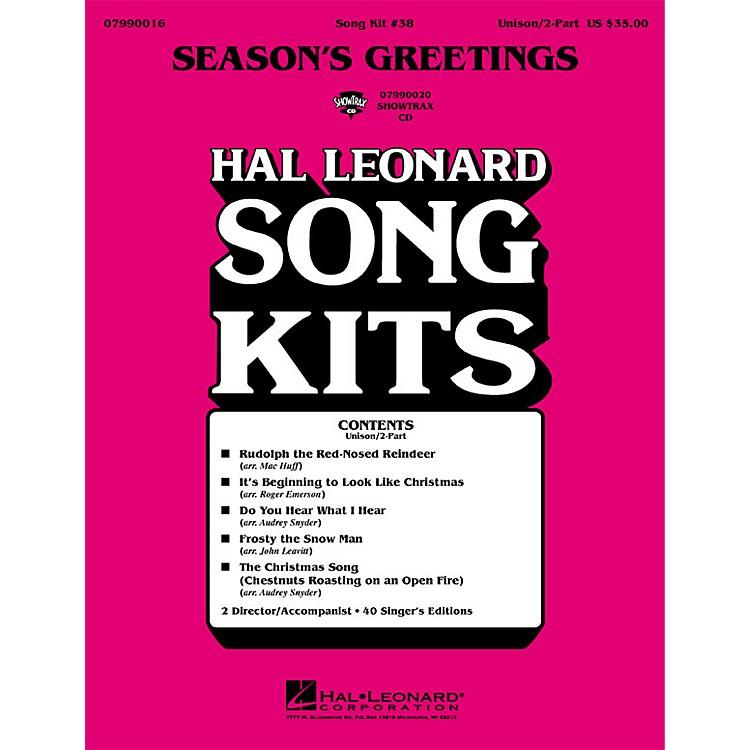 Hal LeonardSeason's Greetings (Song Kit #38) UNIS/2PT Arranged by Various Arrangers