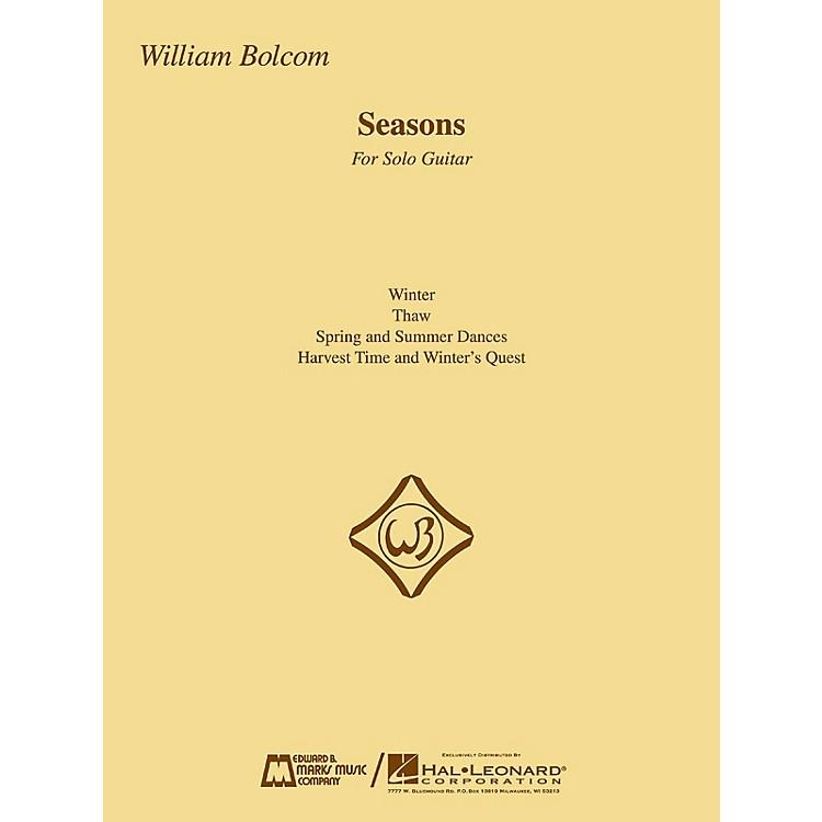 Edward B. Marks Music CompanySeasons (Guitar Solo) E.B. Marks Series Composed by William Bolcom