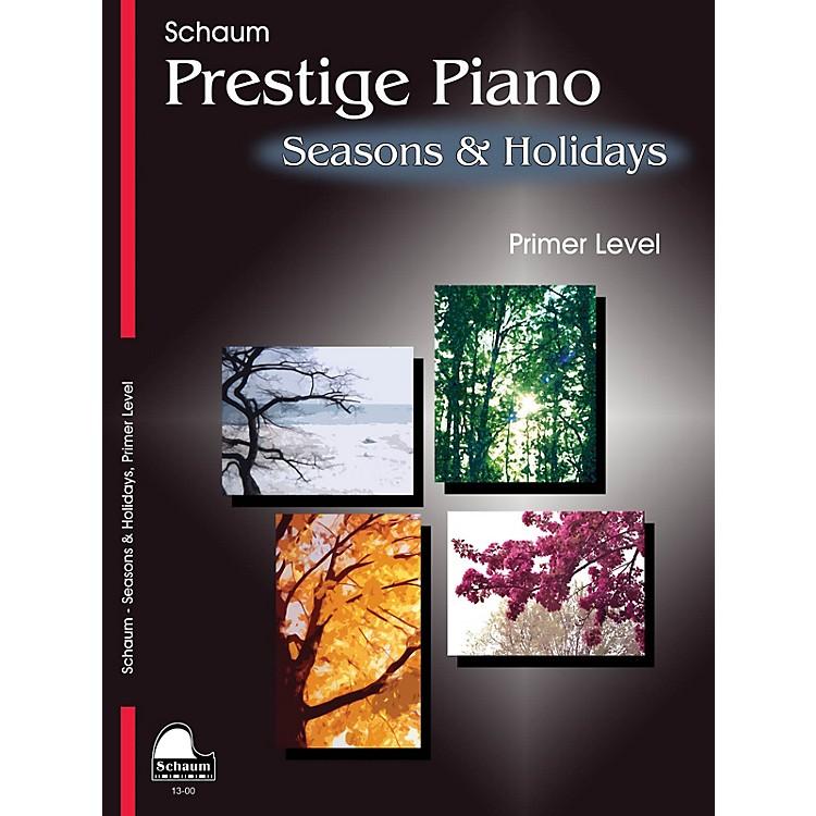 SCHAUMSeasons & Holidays (Primer Level Early Elem Level) Educational Piano Book