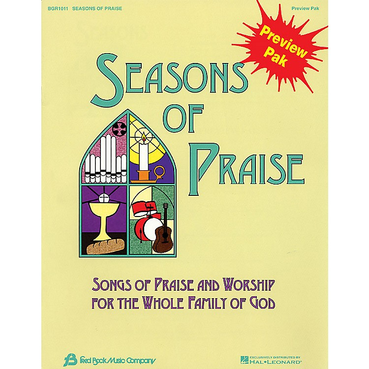 Hal Leonard Seasons Of Praise Preview Pak Preview Pak