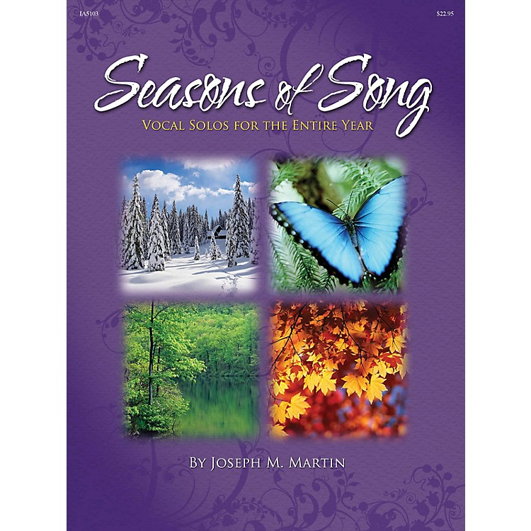 Shawnee PressSeasons of Song (Vocal Solos for the Entire Year) Shawnee Press Series CD  by Joseph M. Martin