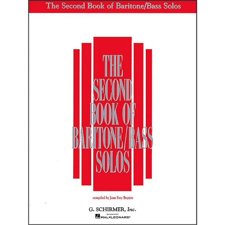 G. SchirmerSecond Book Of Baritone  /Bass Solos
