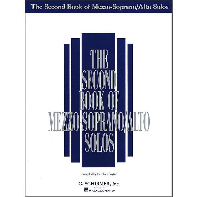 G. SchirmerSecond Book Of Mezzo-Soprano / Alto Solos