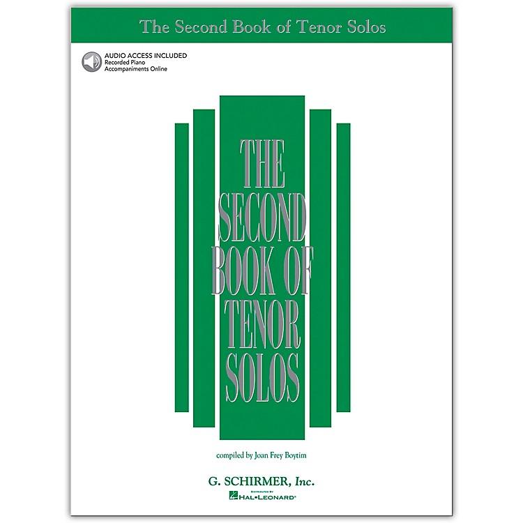 G. SchirmerSecond Book/Online Audio Of Tenor Solos Book/Online Audio
