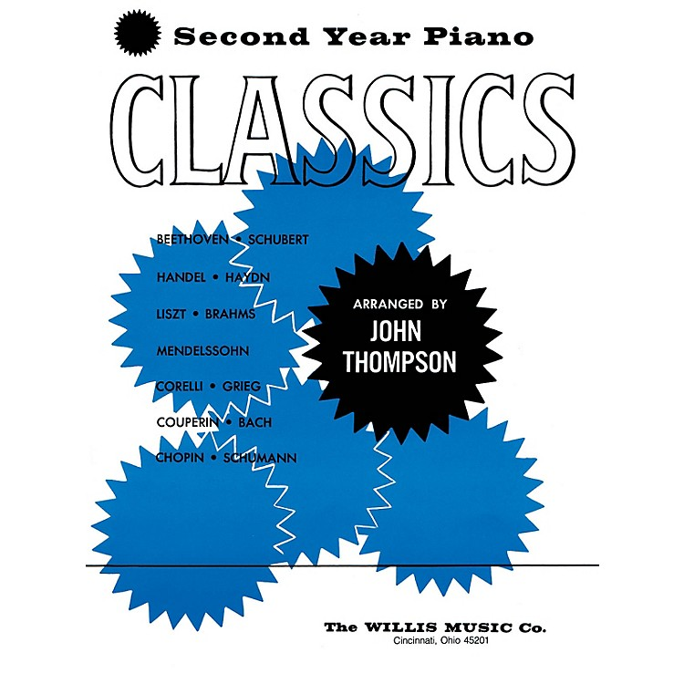 Willis MusicSecond Year Piano Classics - Book 2 (Later Elem Level) Willis Series