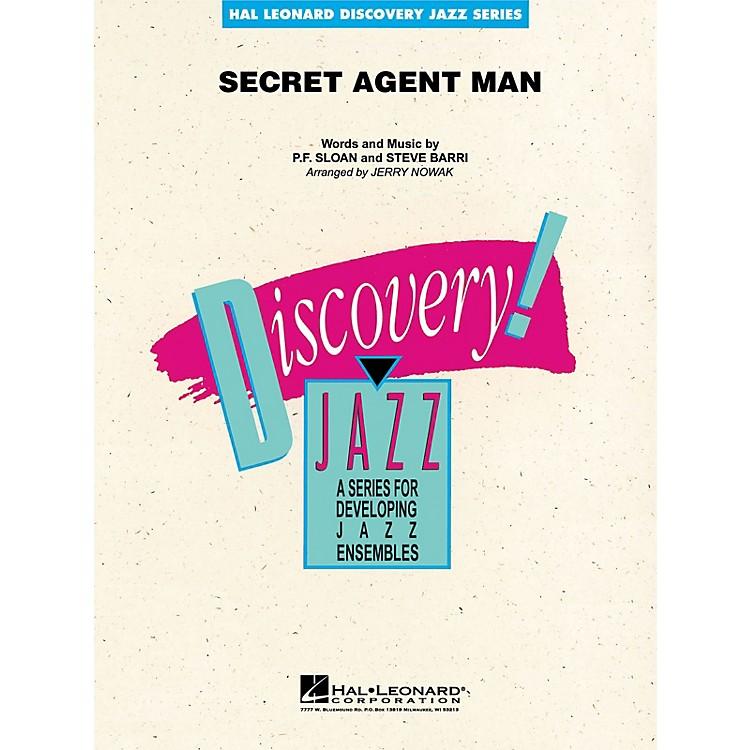 Hal LeonardSecret Agent Man Jazz Band Level 1-2 Arranged by Jerry Nowak