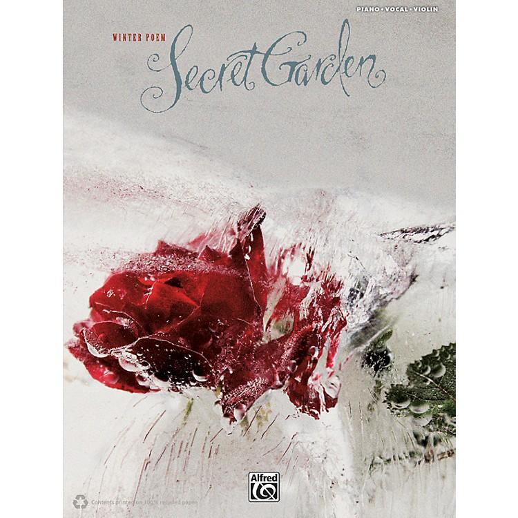 AlfredSecret Garden - Winter Poem PVC with Violin Book