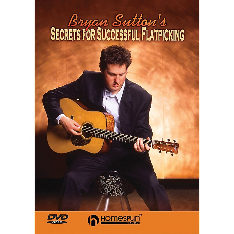 HomespunSecrets for Successful Flatpicking (DVD)