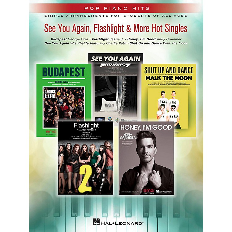 Hal LeonardSee You Again, Flashlight & More Hot Singles for Easy Piano