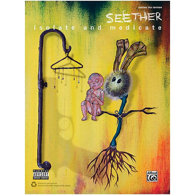 Alfred Seether - Isolate and Medicate Authentic Guitar TAB Book