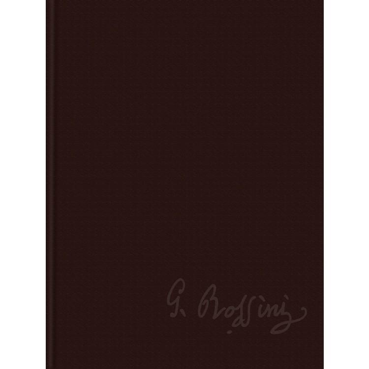 RicordiSei Sonate a Quattro Rossini Critical Edition Series VI, Vol. 4 Score and Parts Hardcover by Rossini