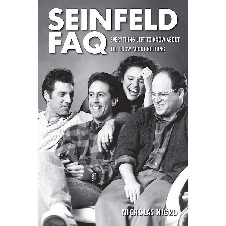 Applause BooksSeinfeld FAQ FAQ Series Softcover Written by Nicholas Nigro