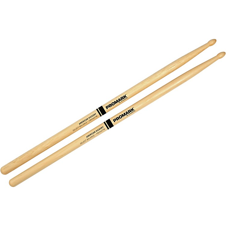 PROMARK Select Balance Forward Balance Wood Tip Drum Sticks .535 in. Diameter Forward Balance