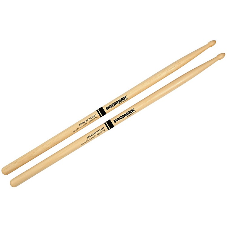 PROMARK Select Balance Rebound Balance Wood Tip Drum Sticks .565 in. Diameter Rebound Balance