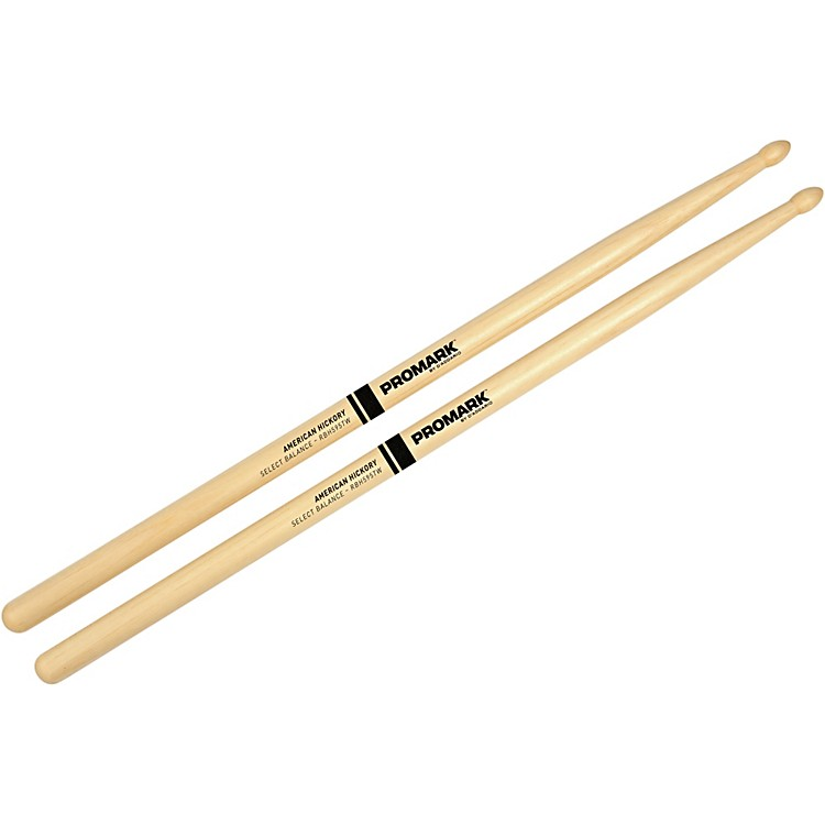 PROMARK Select Balance Rebound Balance Wood Tip Drum Sticks .595 in. Diameter Rebound Balance