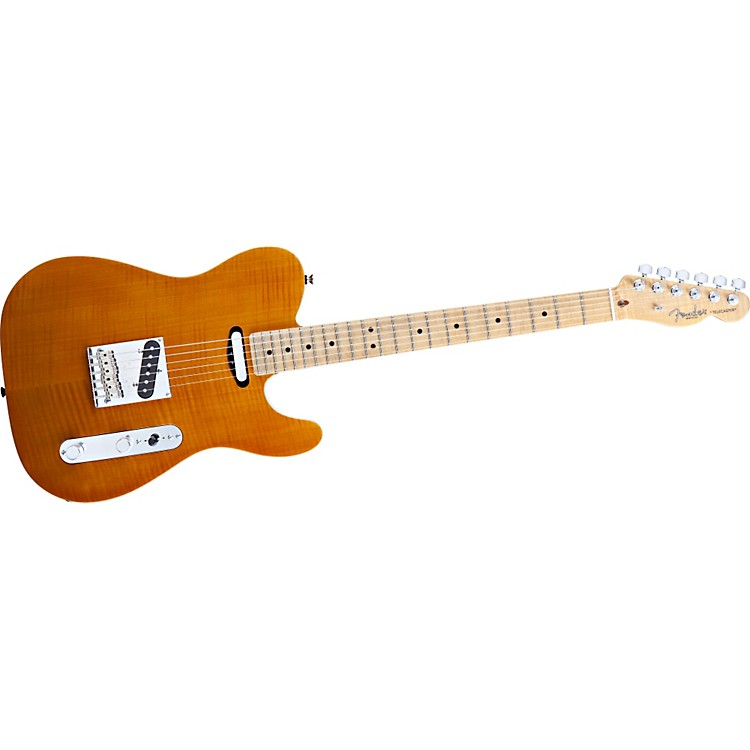 FenderSelect Flame Maple Carved Top Telecaster Electric Guitar