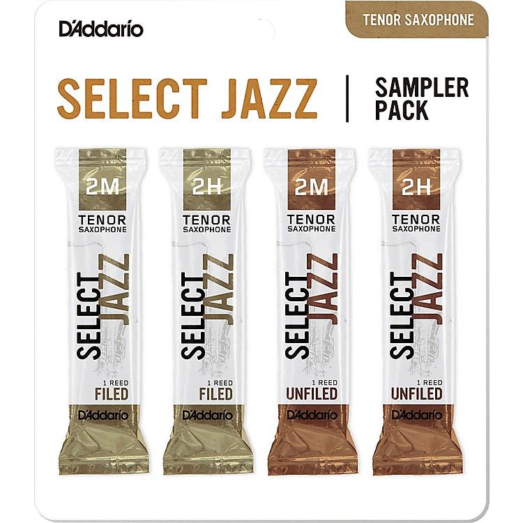 D'Addario WoodwindsSelect Jazz Tenor Saxophone Reed Sampler Pack2