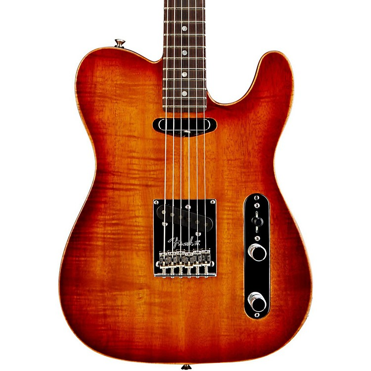 FenderSelect Koa Top Telecaster Electric Guitar