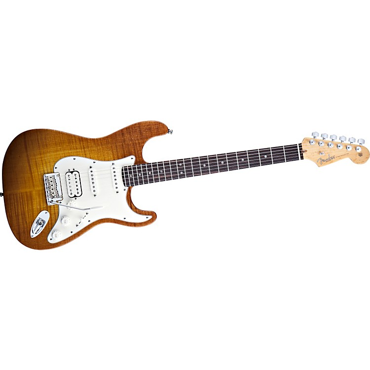 Fender Select Stratocaster Electric Guitar with Maple Fingerboard