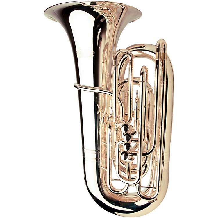 Adams Selected Series 5-Valve 6/4 C Tuba Silver plated