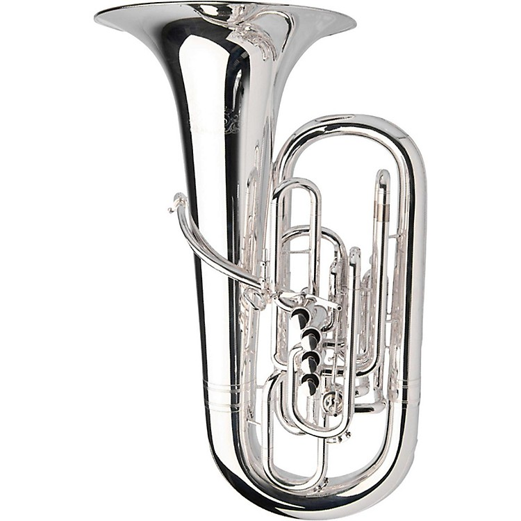 AdamsSelected Series 5-Valve Solo F TubaSilver plated