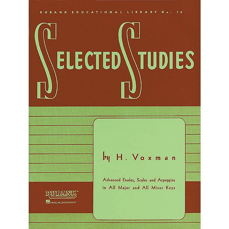 Hal LeonardSelected Studies - Oboe