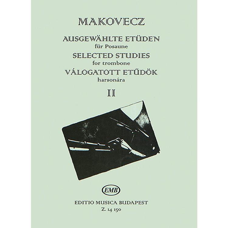 Editio Musica BudapestSelected Studies - Volume 2 (for Trombone) EMB Series