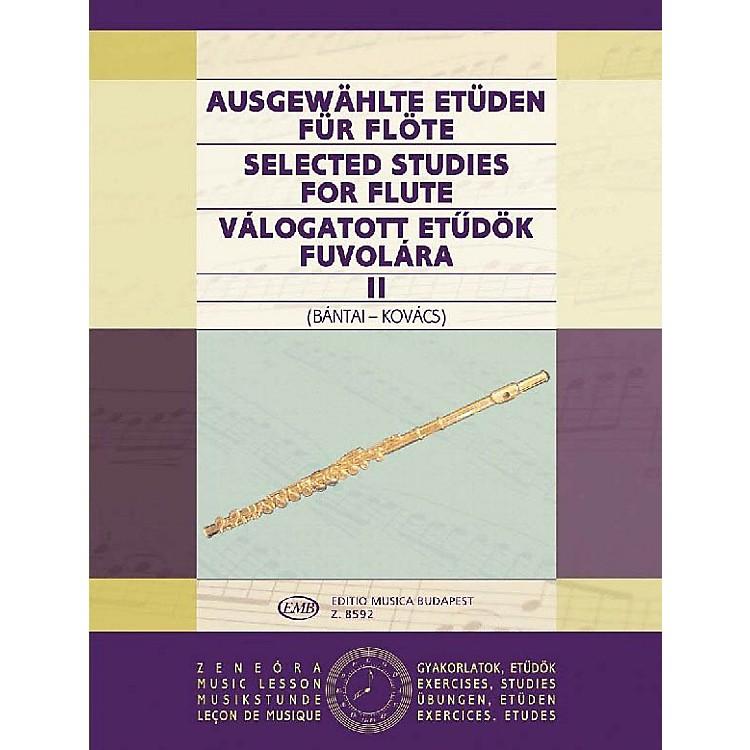 Editio Musica BudapestSelected Studies for Flute - Volume 2 EMB Series