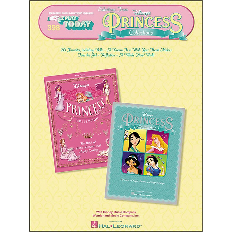 Hal LeonardSelections From Disney's Princess Collections E-Z Play 398