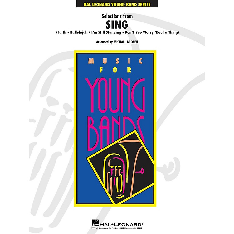 Hal Leonard Selections from Sing Concert Band Level 3 Arranged by Michael Brown