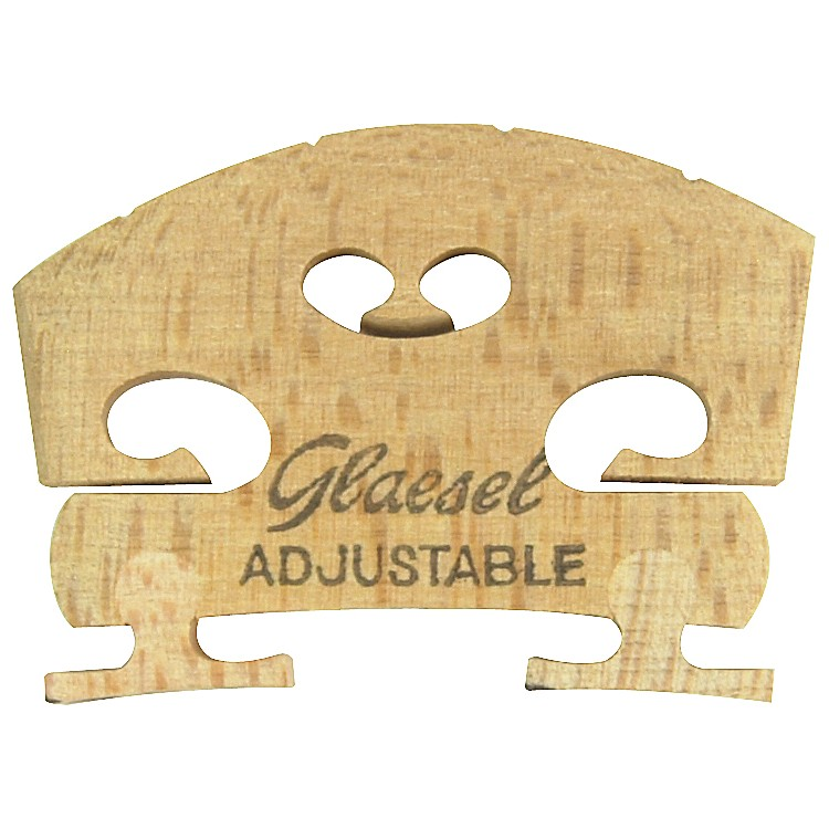Glaesel Self-Adjusting 1/2 Violin Bridge  Medium