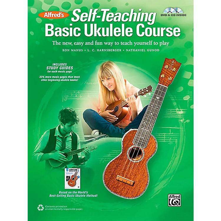 AlfredSelf-Teaching Basic Ukulele Course Book, CD & DVD
