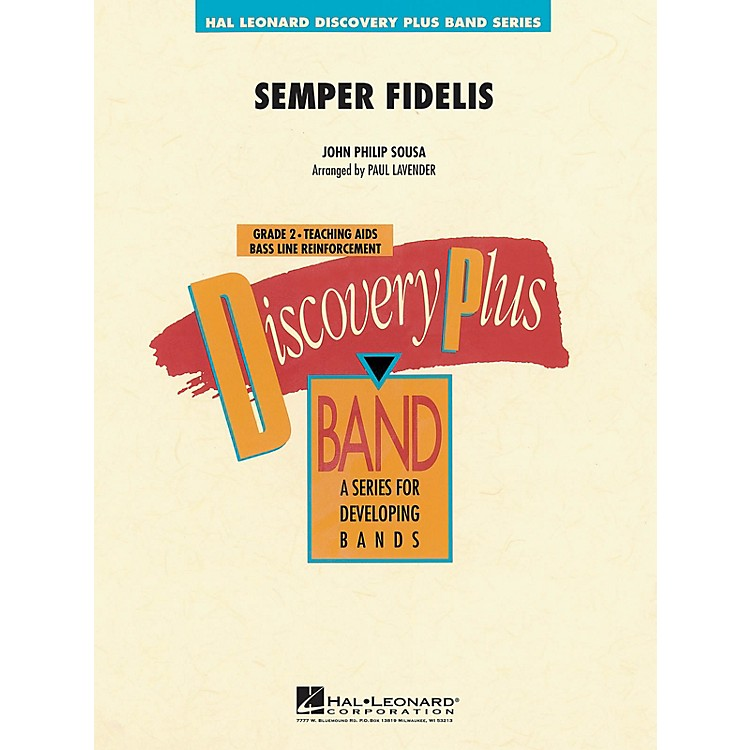 Hal LeonardSemper Fidelis - Discovery Plus Concert Band Series Level 2 arranged by Paul Lavender