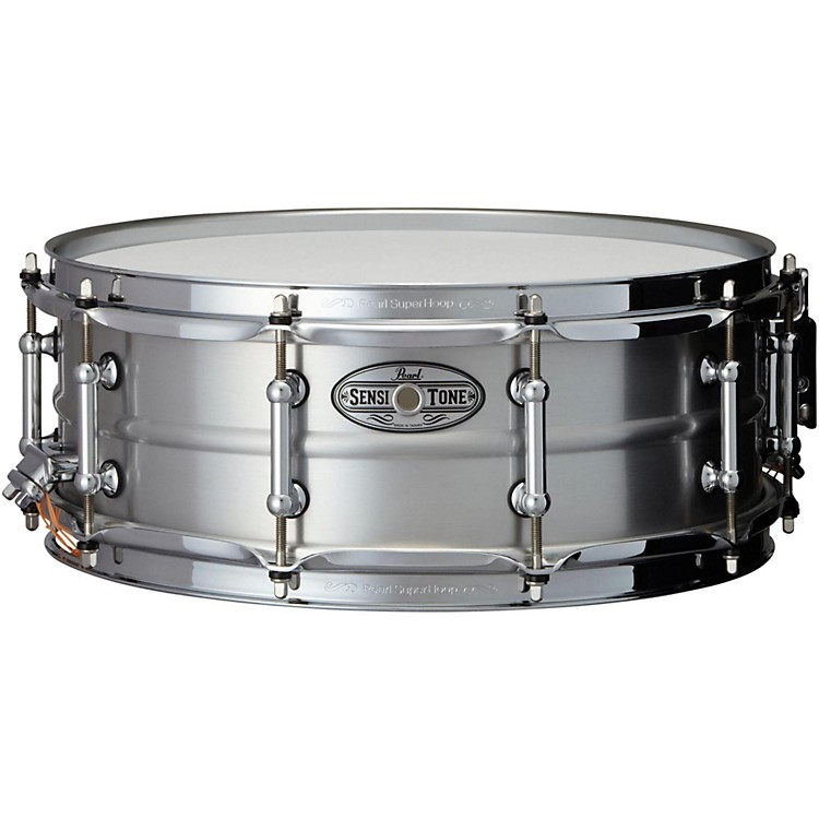 PearlSensitone Beaded Seamless Aluminum Snare Drum14 x 5 in.