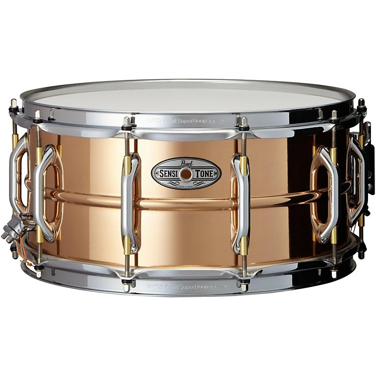 PearlSensitone Phosphor Bronze Snare Drum14 x 6.5 in.