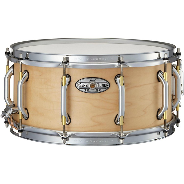 Pearl Sensitone Premium Maple Snare Drum 14 x 6.5 in. Natural