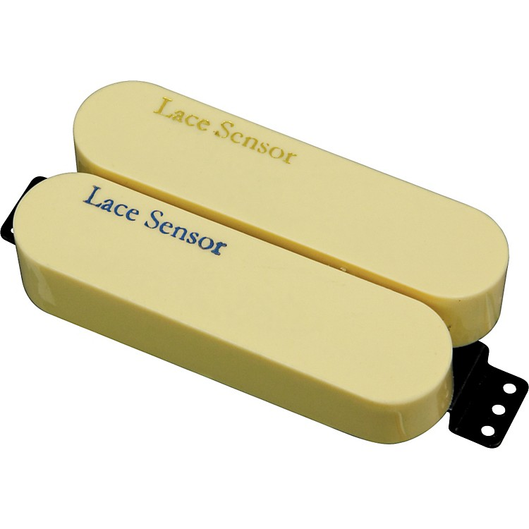 LaceSensor Blue-Gold Dually Humbucker Electric Guitar PickupCream