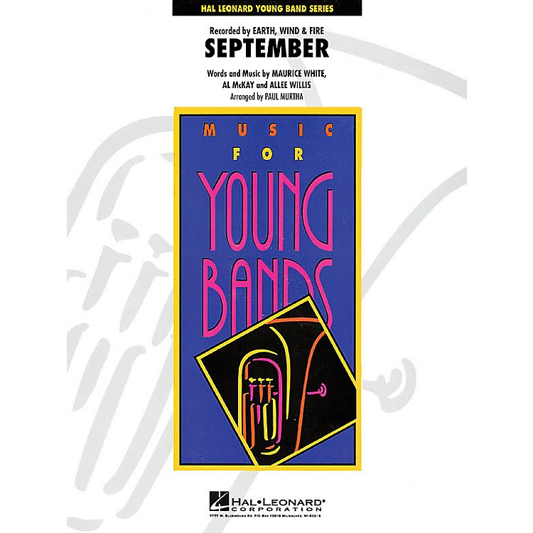 Hal LeonardSeptember - Young Concert Band Series Level 3 arranged by Paul Murtha