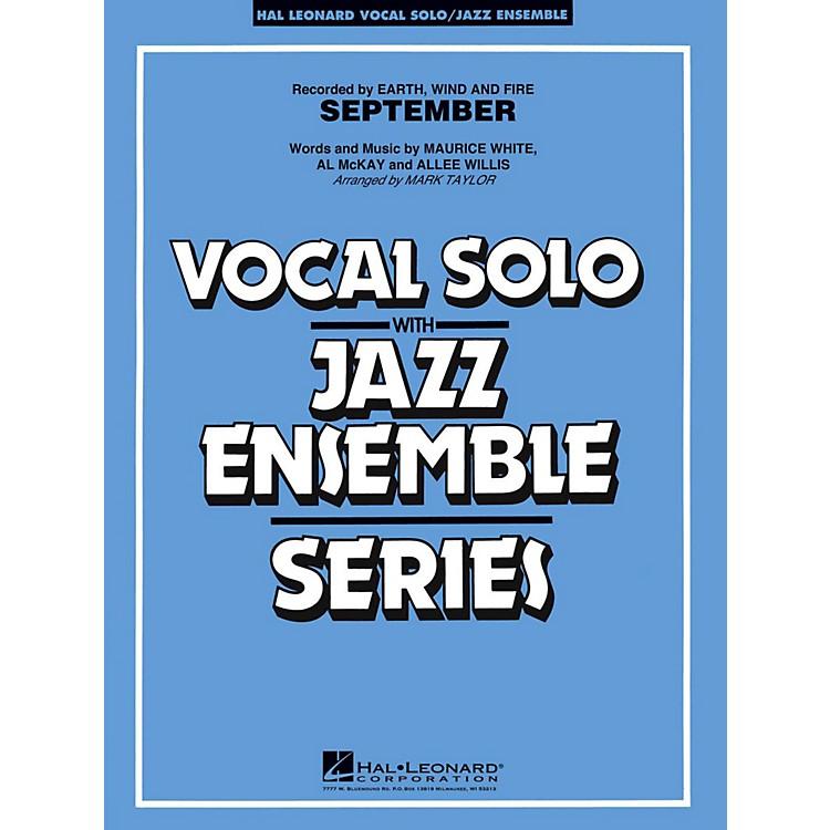 Hal LeonardSeptember Vocal Solo Jazz Band Level 3 - 4