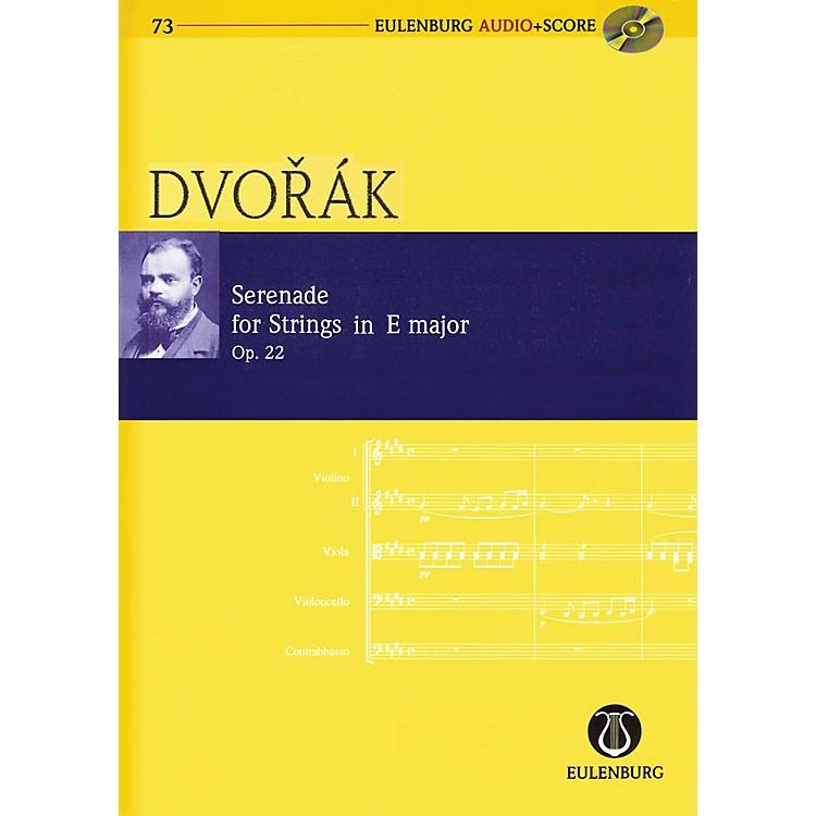 EulenburgSerenade for Strings in E Major Op. 22 Eulenberg Audio plus Score Softcover with CD by Antonin Dvorák