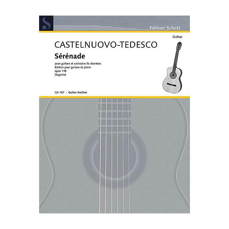 SchottSerenade in D Minor, Op. 118 (Guitar and Piano) Schott Series