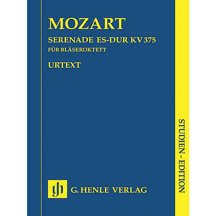 G. Henle VerlagSerenade in Eb Major K375 (Study Score) Henle Study Scores Series Softcover by Wolfgang Amadeus Mozart