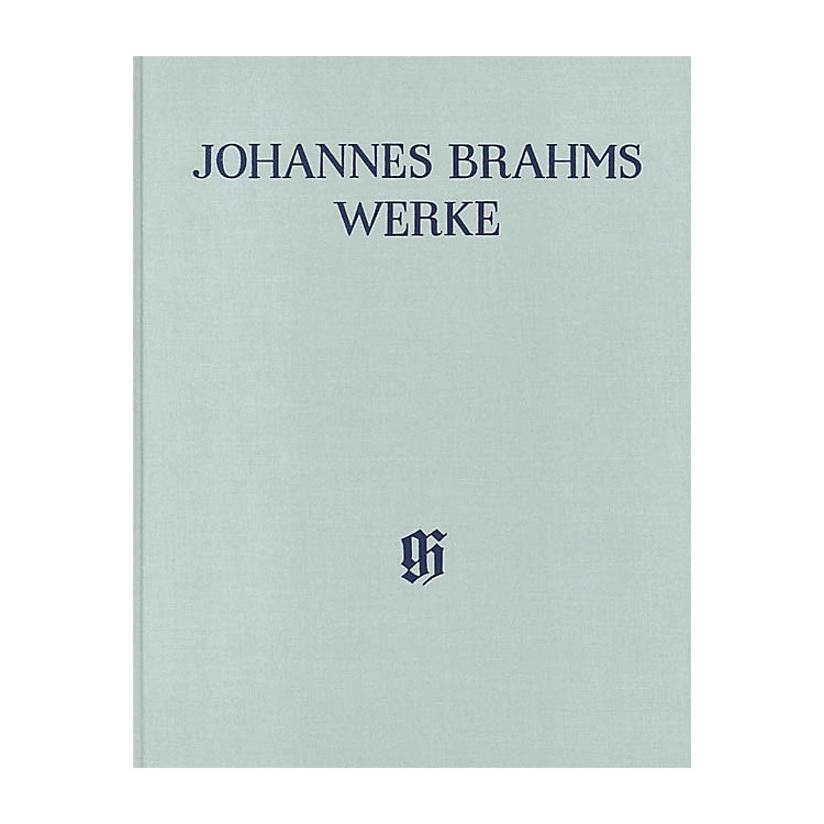 G. Henle VerlagSerenades Henle Edition Series Hardcover by Johannes Brahms Edited by Michael Musgrave